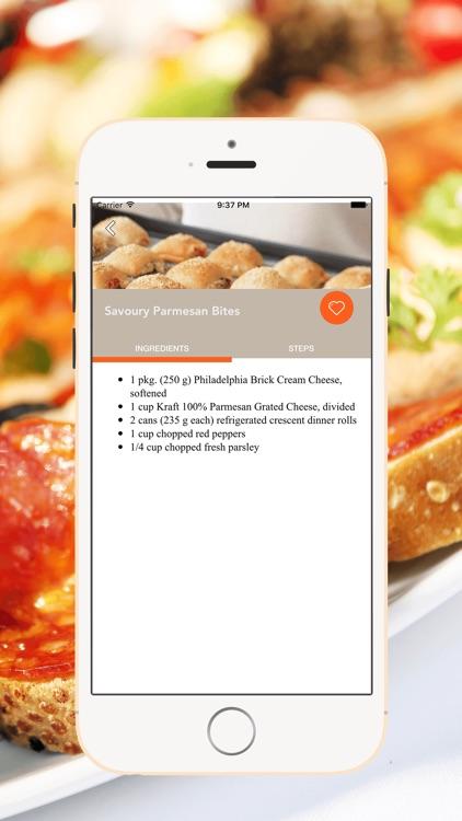 Appetizers Easy Recipes screenshot-4