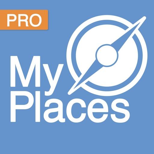 My Places Pro: Save your favorite places