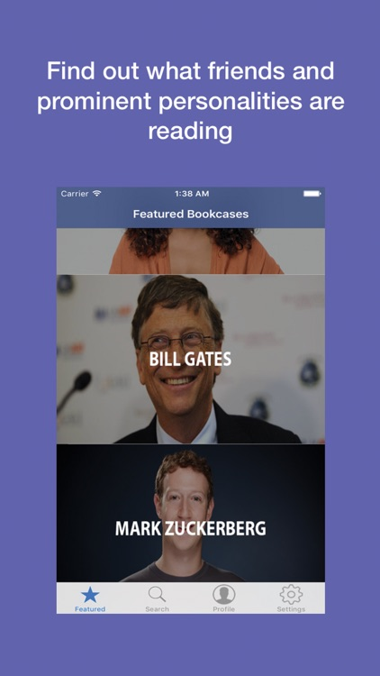 Bookcase App