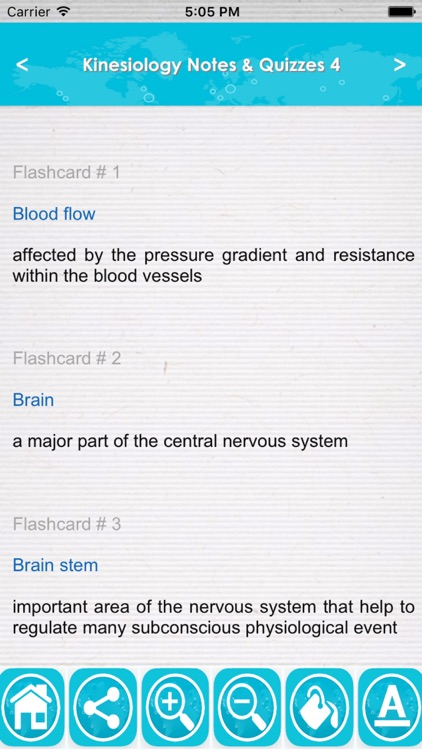 Kinesiology Exam Review : 2200 Quiz & Study Notes screenshot-0