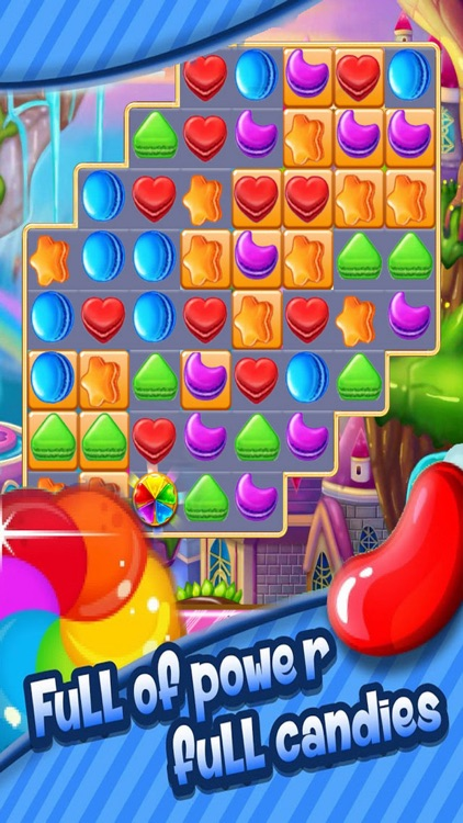 World Match Candy: Connect Sweet Game