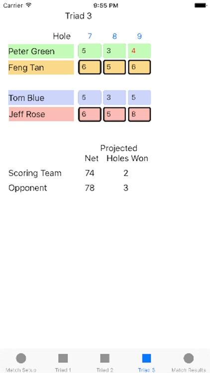 Four Ball League Scoring screenshot-3