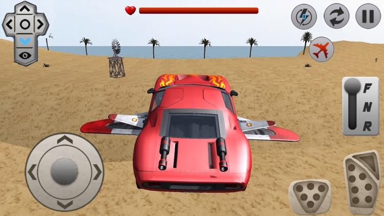 Flying Racing Rivals Sports Car Drifting