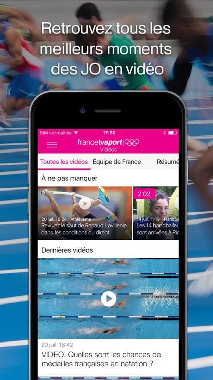 francetv JO – Regarder les Jeux Olympiques de Rio 2016