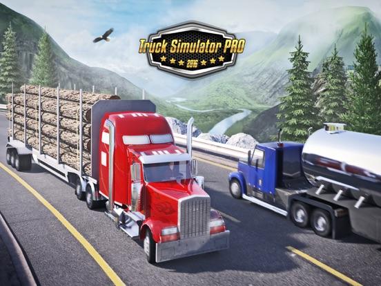 Truck Simulator PRO 2016 на iPad