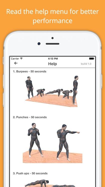 5 Minute Morning Workout Challenge - Calisthenics screenshot-4