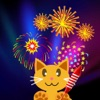 QCat - 儿童烟火游戏Toddler Firework touch Game (free)