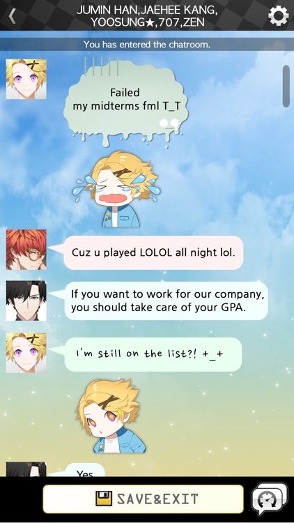Mystic Messenger screenshot-2