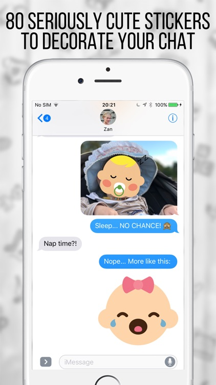 My BabyMoji - Baby Stickers Emoji Expressions screenshot-0
