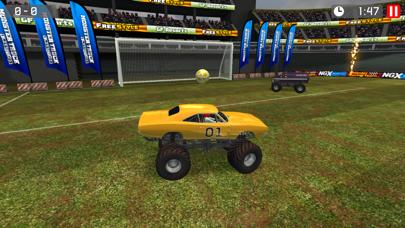Screenshot from Monster Truck Soccer