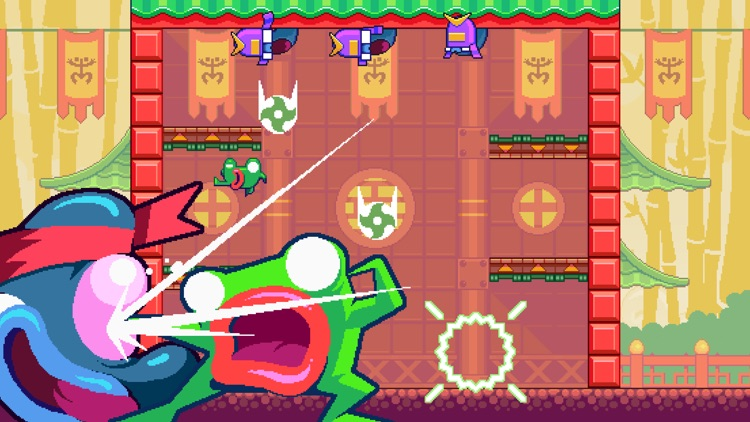 Green Ninja: Year of the Frog screenshot-3