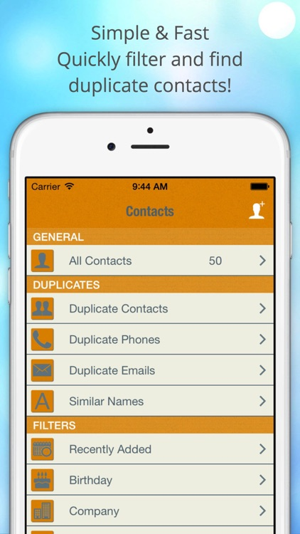 ContactManager – Remove & Merge Duplicate Contacts screenshot-3