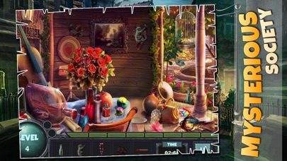 Mysterious Society : Crime scene hidden object features game screenshot four