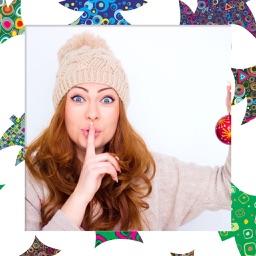 Christmas Santa Frame - Cool Frames