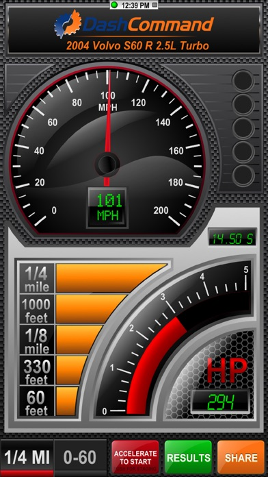 DashCommand - OBD-II gauge dashboards, scan tool, and vehicle diagnostics Screenshot 1