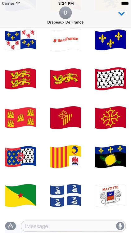 Drapeaux de France Stickers