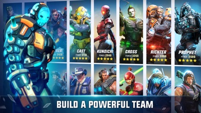 Hero Hunters app