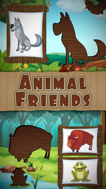 Animal Puzzles Games: Kids & Toddlers free puzzle