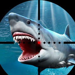 Shark Spear-Fishing Great White Fish hunting games