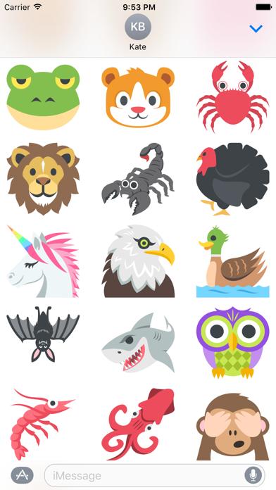 Animal EmojiScreenshot of 3