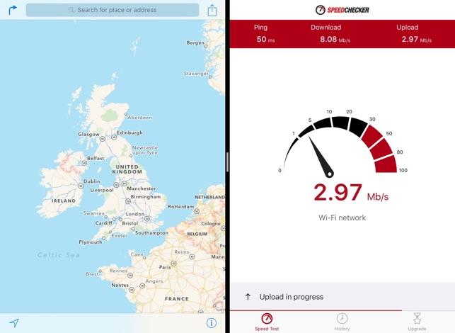 Speedchecker インターネットの速度テスト Screenshot