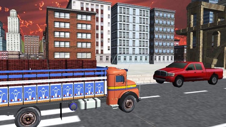 City Cargo Truck Driver 3D: Transportation Trailer screenshot-3