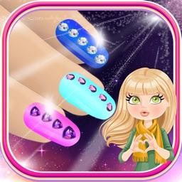 Glitter Nail Salon Games