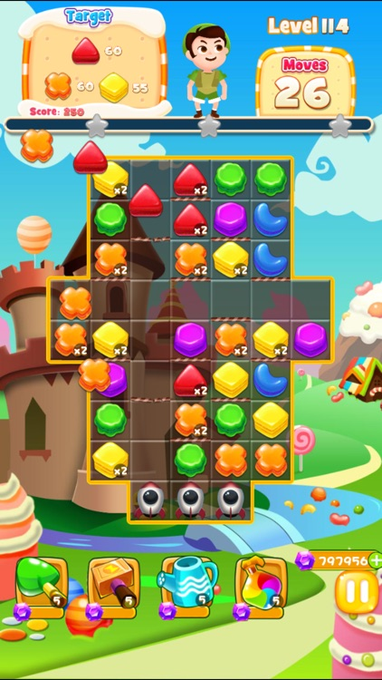 Cookie Sweet:  Puzzle Match Three Games