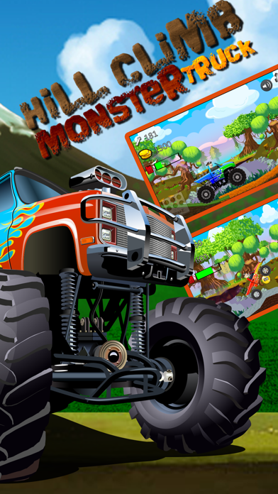 Car Truck Hill Racing : Monster Mountain ClimbСкриншоты 2