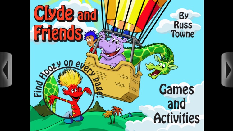 Clyde and Friends - Interactive book app for children