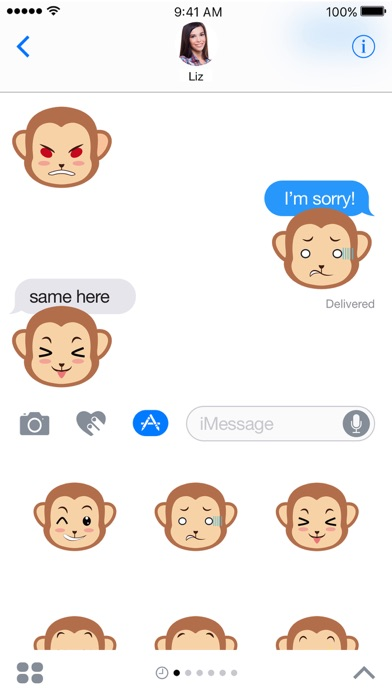 Screenshot #6 for Monkey Expressions