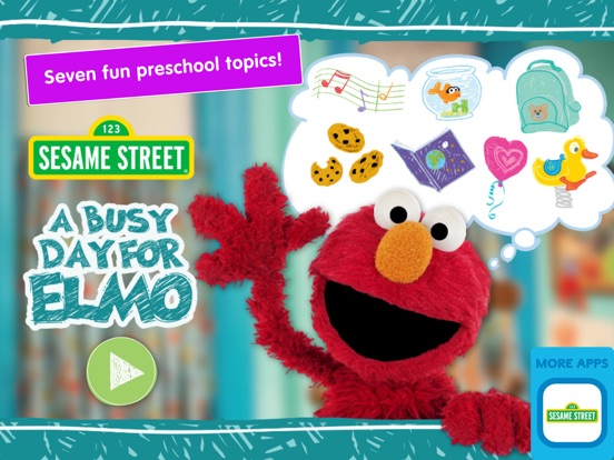 A Busy Day for Elmo: Sesame Street Video Calls на iPad