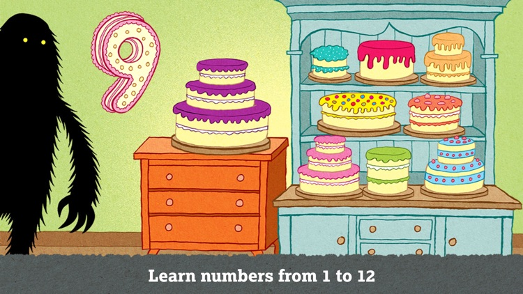 The Lonely Beast 123 - Preschool Number Counting screenshot-0