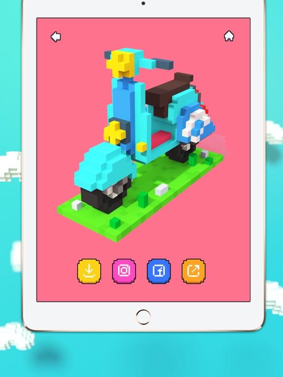 Voxel - 3D Color by Number screenshot 8
