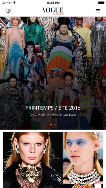 Vogue collections Paris
