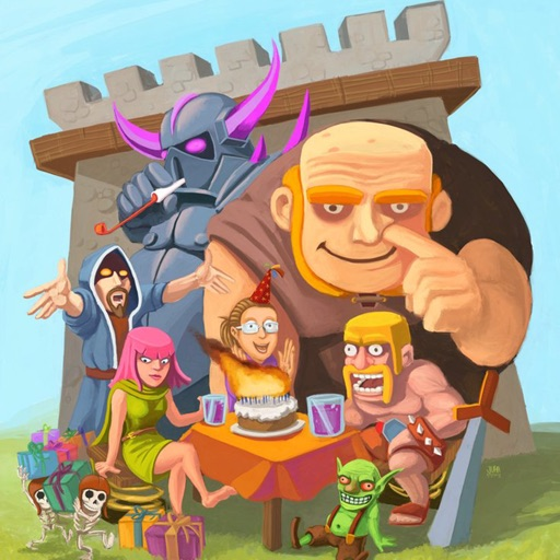 Guide for Clash of Clans - Coc Free Gem Tips Tricks, Bases layouts