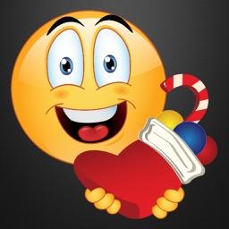 Christmas Emoji Stickers