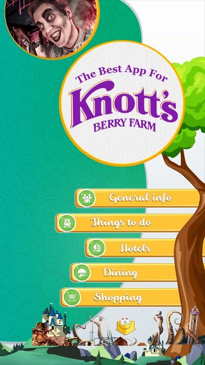 The Best App for Knott's Berry Farm