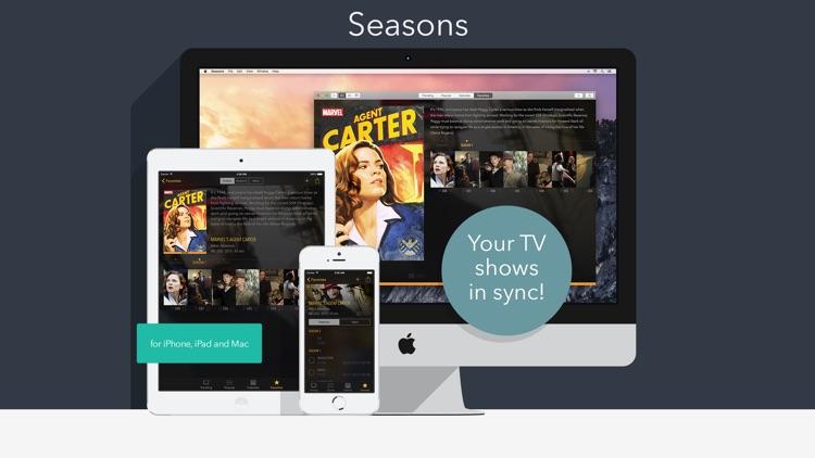 Seasons - TV Shows Tracker screenshot-4