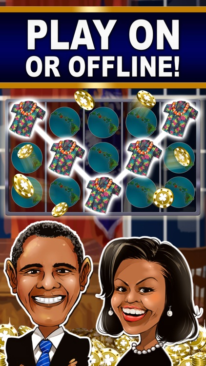 SLOTS: TRUMP vs. HILLARY CLINTON Free Slot Games screenshot-3