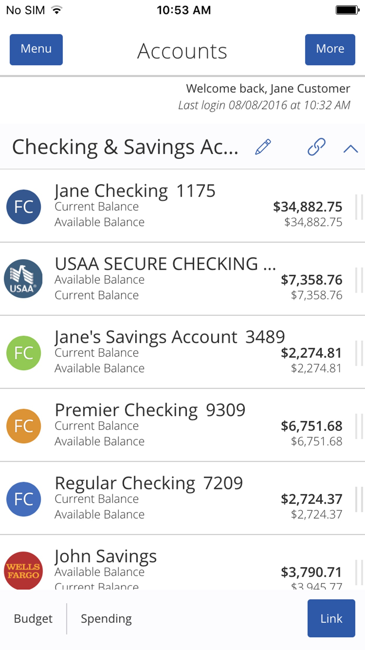 First Citizens Mobile Banking Screenshot
