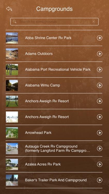 Alabama Camping Guide