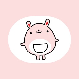 Fat Bunny ~Stickers for Daily Life~