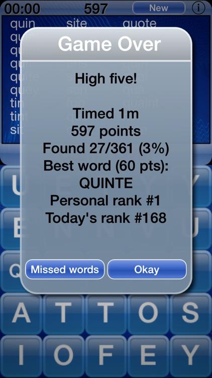 Word Shaker Lite screenshot-3