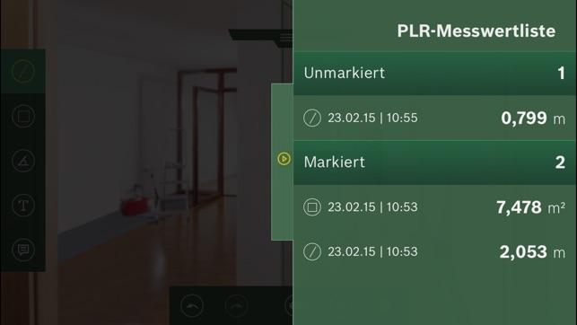 Bosch Entfernungsmesser Plr 40 C : Plr measure go im app store