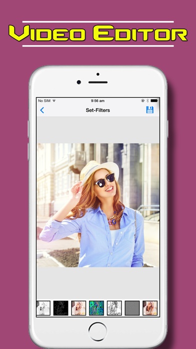 download Video Editor Master - Reverse Movie Maker along with Slow Motion Video in this photo camera app apps 3