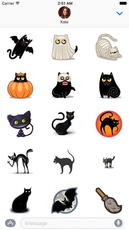 Halloween Sticker Set