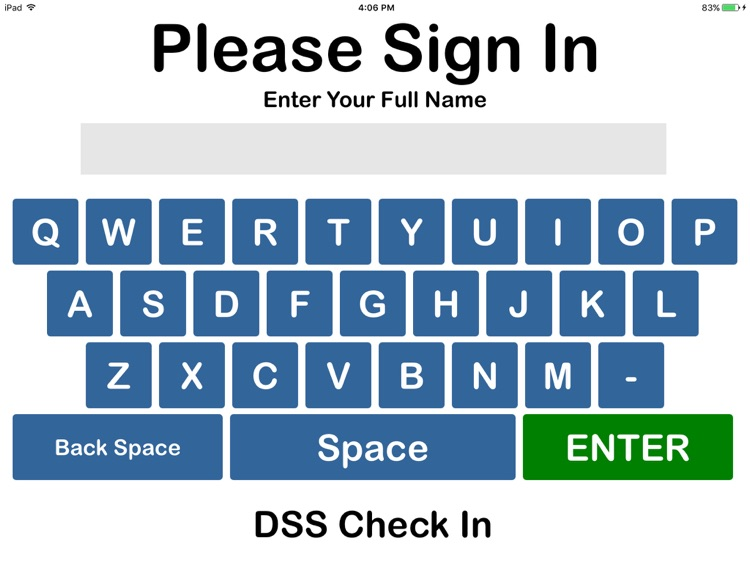 DSS Check In screenshot-0
