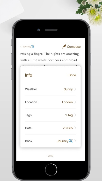 Once - Journal/Diary/Note App screenshot-7