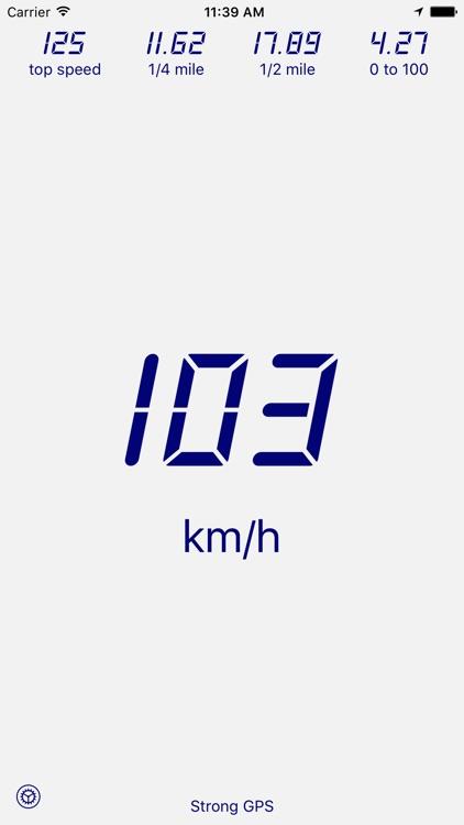 Velocimeter - Speedometer App